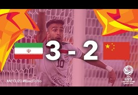 Iran beats China in AFC U23 Championship 2016