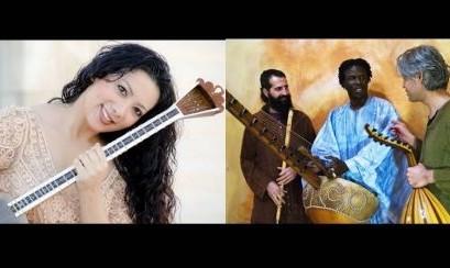 کنسرت زیبای ایرانی ترکی صهبا مطلبی و باند ۳ نفره مهمت پولات تریو