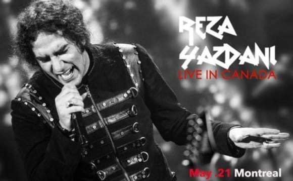 Reza Yazdani Concert in Montreal