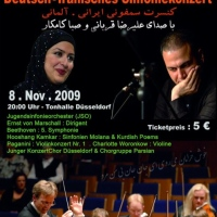 Deutsch-Iranisches Symphony Orchestra with Alireza Ghorbani and Saba Kamkar