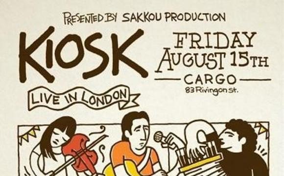 Kiosk Live in London