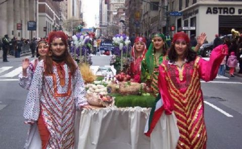 Nowruz Persian Parade in New York