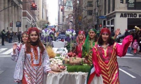 Nowruz Persian Parade in New York