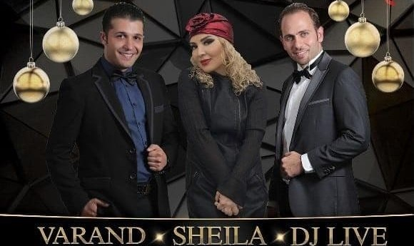 New Year's Eve 2017 with Sheila, Varand, DJ Live