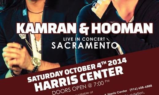 KAMRAN & HOOMAN Concert in Sacramento
