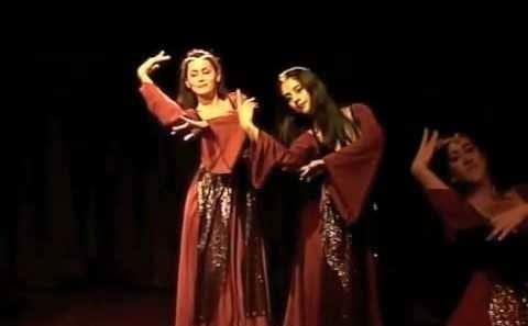 اجرای رقص شهرزاد خرسندی