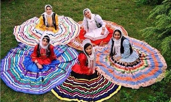 Grundkurs Raghshaye Iran - Persische Volkstänze