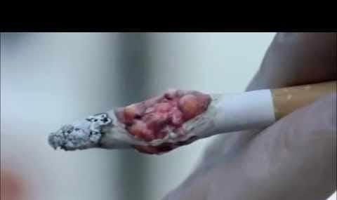 تبلیغات شوکه کننده در انگلیس برای ترک سیگاریها (ویدئو)