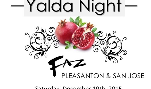 Yalda Night in San Jose: Persian Food, Dance and Music
