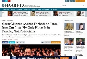 Farhadi's remarks to Israeli Paper about Ahmadinejad and Netanyahu anger radicals
