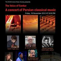 Voice of Santur (XVI): A Multicultural Concert of Iranian & Greek Music