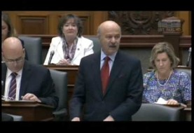 Dr. Moridi pays tribute to Canadian Nobel Prize winner