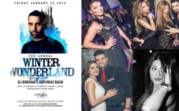 Winter Wonderland: DJ Borhan's Birthday Bash