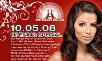 Tehran Club Disco Grand Opening Night