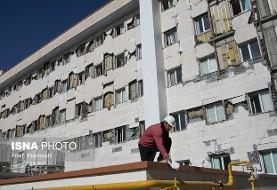زمان بازسازی دو بیمارستان آسیب دیده کرمانشاه اعلام شد