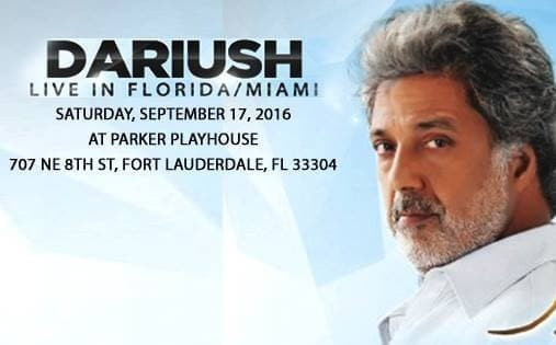 Dariush Live in Miami