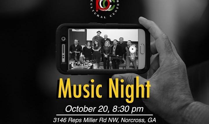PCC October Music Night