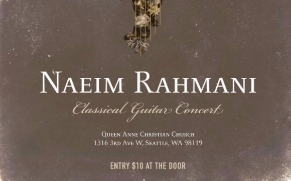 Naeim Rahmani Classical guitar concert