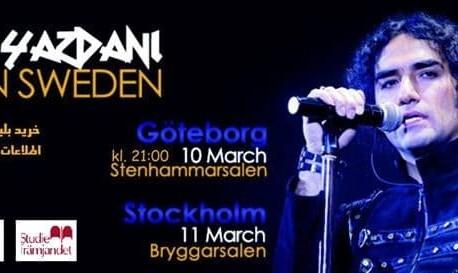 Reza Yazdani Live in Göteborg