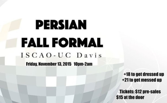 Annual Persian Fall Formal