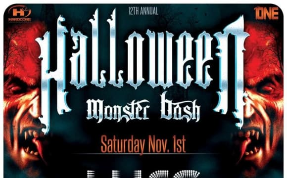 12th Annual Halloween Monster Bash