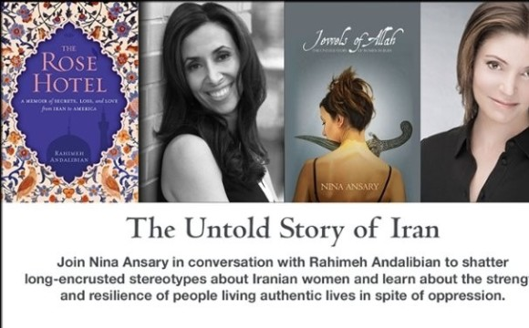 Book Signing for Dr. Nina Ansary, Conversation with Dr. Rahimeh Andalibian