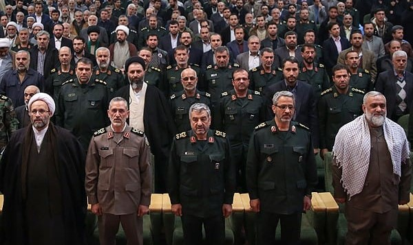 Iran's Militia Chief in Farewell Speech: Trusting America Will ...