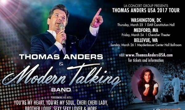 Thomas Anders and Modern Talking Band in Boston