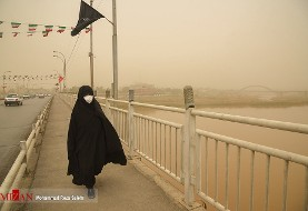 Sand storms paralyze Ahvaz again