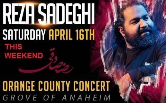 Reza Sadeghi Live in Concert, Orange County