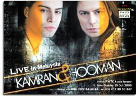 Kamran and Hooman, Live in Malaysia