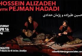 کنسرت استاد حسین علیزاده و پژمان حدادی