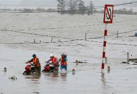 ادامه بارشهای عجیب باران: این بار ۳۷ کشته و ۴۰ مفقود در پی رانش زمین در ویتنام