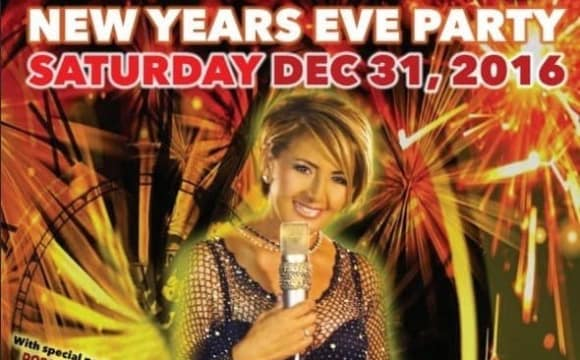 New year's Eve Concert with Nooshafarin, Comedy by Eslam Shams, Full Dinner
