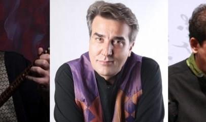 Iran: Trio Behdad Babaei, Ardeshir Kamkar and Hamid-Reza Nourbakhsh
