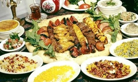 Persian Dinner Night: Saffron Marinated Grill, Persian Desserts, Cardamom Coffee