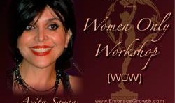 Women Only Workshop By Dr Azita Sayan