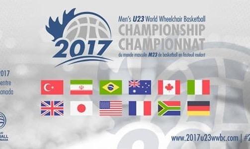 World Cup U-23 Wheelchair Basketball Canada