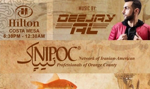 NIPOC Prestigious Norooz Celebration: Best Dinner, Music and Dance