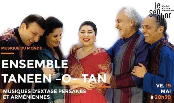 Madjid Khaladj présents Ensemble Taneen-O-Tan: Persian, Armenian ecstasy music