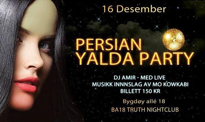 Persian Yalda Party