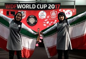 Young Iranian Women Hit The Bulls Eye, Win Historic Gold Medals in WDF Darts World Cup