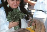 دیدار نجمیه باتمانقلیچ معروفترین نویسنده کتب آشپزی ایرانی