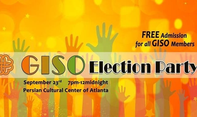 Georgia Iranian Students Organization (GISO) Election Party!
