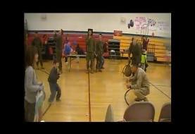 (ویدئو) شگفت زدگی ارتشی آمریکایی پس از بازگشت از خاورمیانه