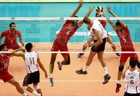 Iran's volleyball drops to 8th in new world ranking