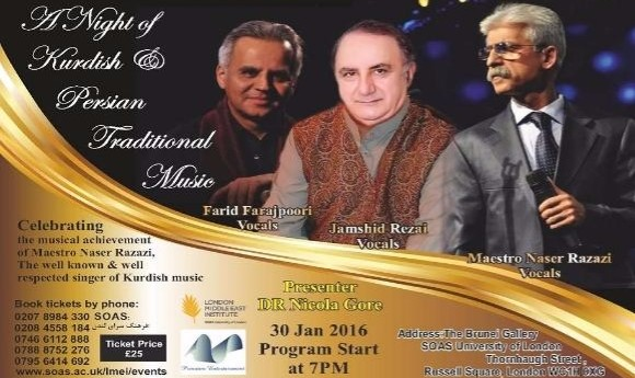 A Night of Kurdish & Persian Traditional Music