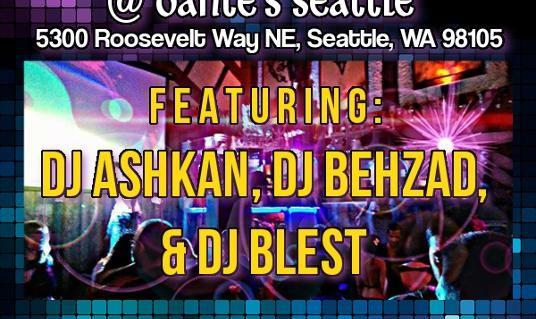Spring Bash 2015 Feat. DJ Ashkan, DJ Behzad, DJ Blest