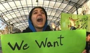 Char Shanbeh Soori Protest