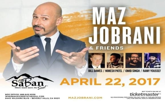 Maz Jobrani and Friends, Comedy Night